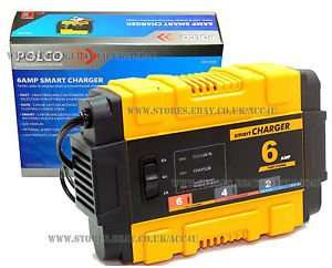 Polco EBSC6 Smart Car Battery Charger 6A £22 delivered @ amazon