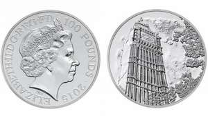 £100 coin free postage £100.00 @ royalmint