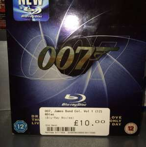 007 James Bond collection vol 1 Blu-Ray 6 disc £10 @ CEX instore