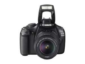 Canon EOS 1100D Digital SLR Camera 12MP EF S 18-55 Kit III Black BRAND NEW WITH A 12 MONTH TESCO OUTLET WARRANTY £249 @ tesco / ebay