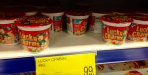 Lucky Charms Cereal @ B&M 99p