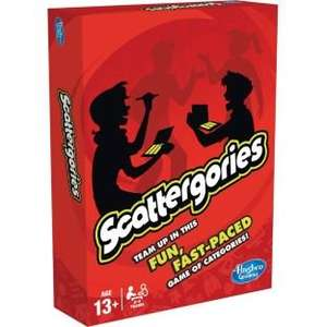 Scattergories Board Game £8.49 in Argos in store