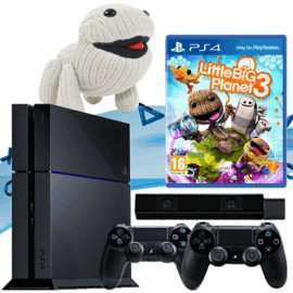 PlayStation 4 + 2 Controllers + Little Big Planet 3 + PS4 Camera £359.99 @ GAME