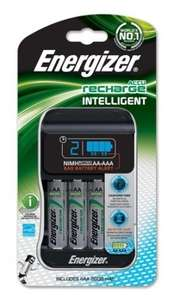 Energizer Intelligent AA/AAA Battery Charger UK Plus With 4AA 2000mah Rechargeable Batteries £11.99 @ Amazon delivered