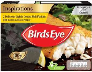 Birds Eye Inspirations Lemon & Pepper (Alaskan Pollack 72%) Fish Fillets (300g) was £2.99 now £1.49 @ Morrisons