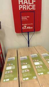 Venezia Oak Laminate Flooring 12mm thickness @ WICKES for 7.49/m2 Instore ONLY (8.99 /m2 online)