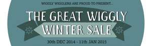 Wiggly Wigglers Winter Sale - Save up to £15 on a Range of Garden Supplies and 15% Off All Goat Socks!