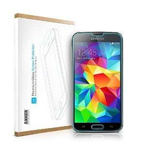 REDUCED from £29.99 to £5.99 Anker® Tempered-Glass Screen Protector for Samsung Galaxy S5 Sold by AnkerDirect and Fulfilled by Amazon.  (free delivery £10 spend/prime)