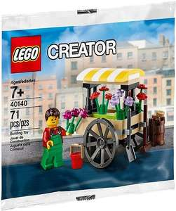 30% Sale on selected LEGO Sets + Over 100 new sets released + Get your free and exclusive LEGO Creator Flower Cart with orders over £50 @ Lego (Starts 1st Jan)