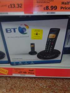 BT3710 House Phones - Single, Twin and Trio packs reduced to clear £22.49 instore Sainsburys