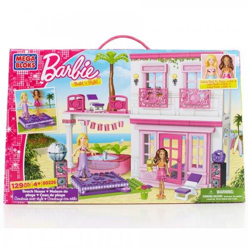Barbie Mega Bloks Build 'n Style Beach House £8 at Morrisons (£24.99 on Amazon)