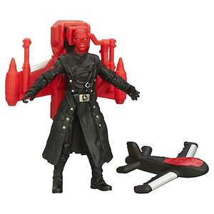 Captain America: Air Raid Red Skull action figure, John Lewis, reduced to £5, (Plus others for £4.50) Free C&C