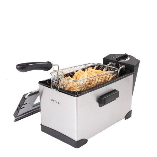 Vonshef 2.5L Deep Fat Fryer £11.98 Delivered @ Domu.co.uk (Designer Habitat)
