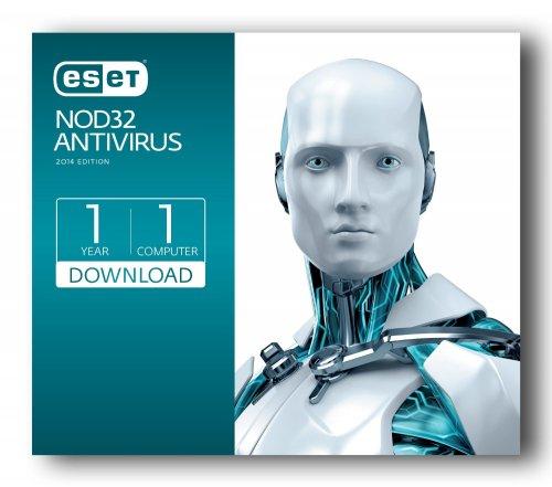 Eset NOD32 Antivirus (2014) from £9.99 @ Amazon