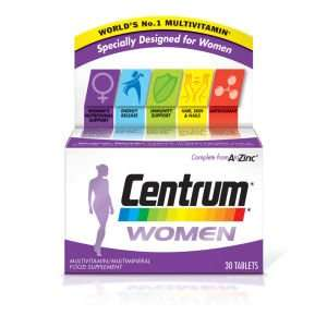 Centrum Women (30 tablets) £5.62 (25% off) @ LookFantastic