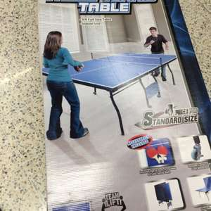 Md sports table tennis table £45 asda in store Leeds