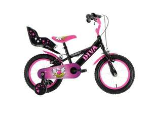"Townsend Diva girls bike 14"" wheels £40 @ Asda Direct"