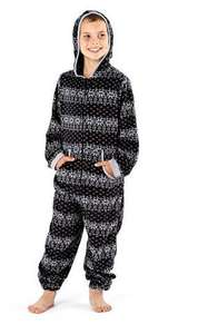 Boys Fleece Onesies Grey or Navy - Ages 2/3 and 3/4 - £4.99 Delivered - Amazon (sold by Socks Uwear®)