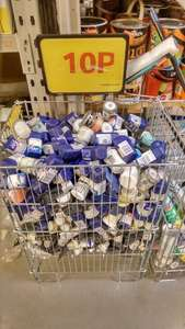 Dulux, Crown, Colours Tester pots 10p Clearance @ B&Q