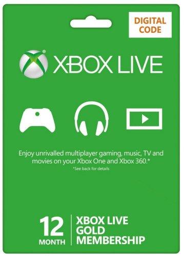 Xbox Live 12 months £27.99 @ Amazon UK - Digital Code