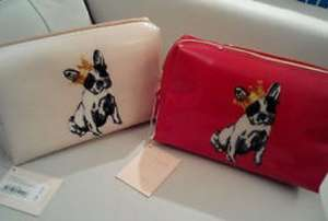 Ted baker washbag £13 from £25. French bulldog design, ladies they're adorable!