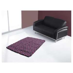 The Ultimate Rug Company Rocks Wool plum rug 120 x 170cm at Tesco Direct reduced from £150.00 to £37.50