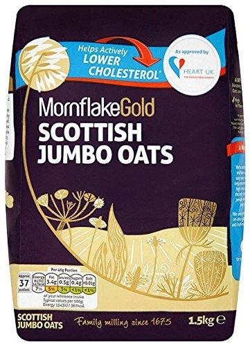 Mornflake Gold Scottish Jumbo Oats 1.5 Kg (Pack of 5 (7.5kg)) £7.88 via S&S (£8.30 plus del otherwise) @ Amazon