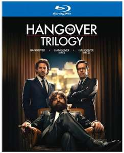 The Hangover Trilogy Blu Ray £10.99 @ Zavvi