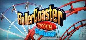 Rollercoaster Tycoon Deluxe £1.43, Rollercoaster Tycoon 2 Triple Thrill Pack £2.09 @ Steam