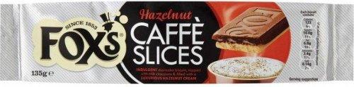 Fox's Caffe Slices - Hazelnut (135g) ONLY 49p @ Poundstretcher