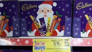 Cadbury Selection Boxes 59p @ Quality Save