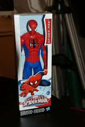 Marvel Ultimate Spiderman Titan Hero Figure only £1.88 at Tesco Linwood