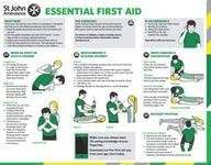 Free St John Ambulance First Aid Guide