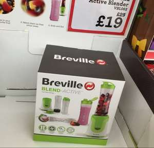 Breville Blend Active Blender 2 bottles set for £19 @ Morrisons NATIONAL OFFER ENDS 1st MARCH!