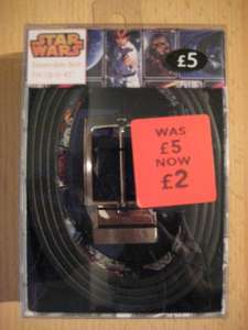 Star Wars & Marvel Comics Reversible Belts reduced from £5 to £2.00 @ George at Asda