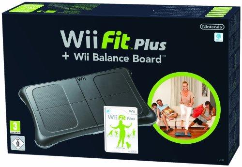 Nintendo Wii Fit Plus w/ Balance Board (Black) 29.99 @ Amazon
