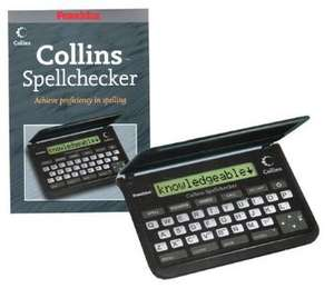 Franklin SPQ109 Collins Pocket Speller £13.74 and Free Delivery from Amazon