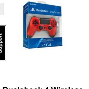 Magma and black ps4 controllers - £36.47 @ Gamestop