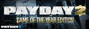 PAYDAY 2: GOTY Edition £18.90 on Steam