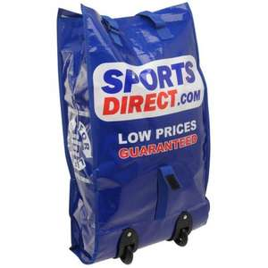 SportsDirect Trolley wheeled shopping Bag @ sportsdirect £2 + £3.99 delivery