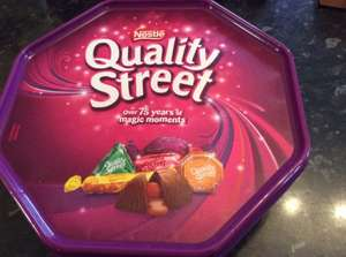 Quality Street Tubs 780g £2.49 @ asda