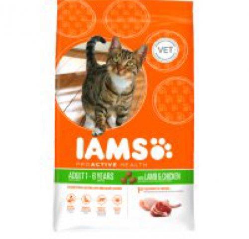 Iams dry cat food 3Kg £7.49 Waitrose