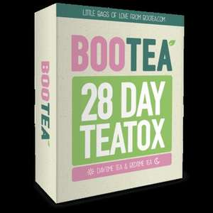 Bootea 28 day Teatox - Weight Loss Herbal Detox Tea £26.24 @ Holland and Barrett