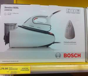 Bosch Sensixx B35L Steam Iron £79.00 @ Tesco instore