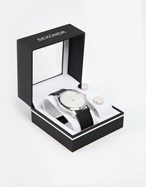 Sekonda Watch & Cufflinks Gift Set NOW £16.00 at ASOS