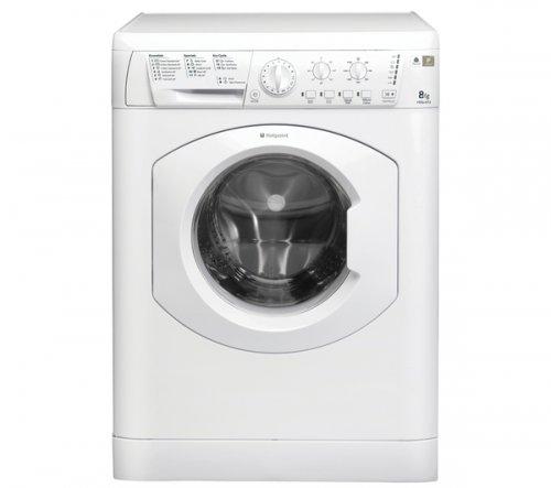 HOTPOINTHE8L493P Washing Machine - White @ Currys