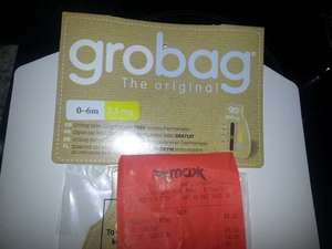 Baby Grobag sleeping bag £8 @ TK Maxx clearance