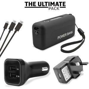 Ultimate Micro USB Charging Pack RRP £65.94 – you save 70% £19.99 @ Mobile Fun