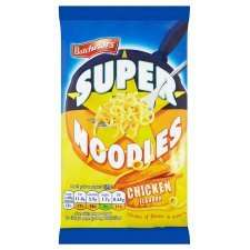 Batchelors Super Noodles all flavours only 40p at Tesco from tomorrow.