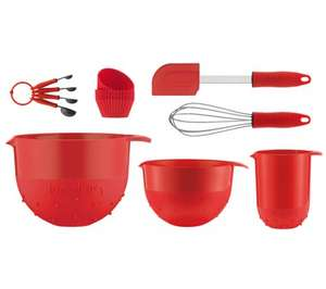 BODUM K11402-294 Bistro Baking Set - Red £14.99!! (Currys HOVE STORE)